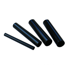 Anti-abrasion hdpe black pipe with blue stripe water pipe for irrigation