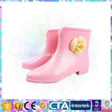 pink color girl cute rain shoes