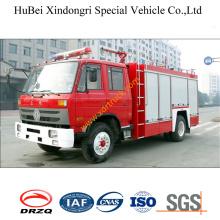 6ton Dongfeng chasis 153 polvo seco camión de bomberos Euro3