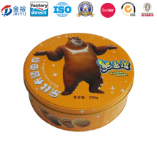 Wholesale Round Shaped Cookie Biscuit Box for Cake Packaging