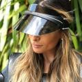 Protection UV en gros de chapeau de chapeau de pare-soleil en plastique