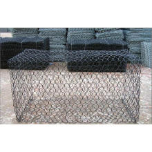 Hot-Dipped Gabion Wire Mesh (fábrica de anping)