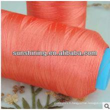 fil de broderie en filaments de polyester FDY