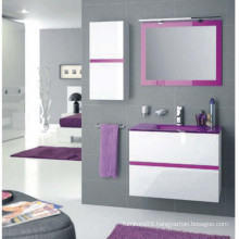 Moden Design PVC Bathroom Cabinet with Sink