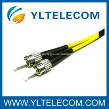 ST LSZH fibra óptica Patch Cord cabo SM MM disponível para a rede de CATV FTTH