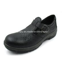 Sandales Casual Style Split en relief des chaussures de sécurité en cuir (HQ01022)