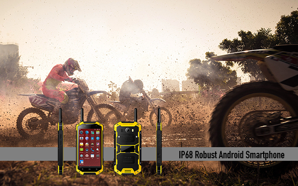 IP68 Robust Android Smartphone