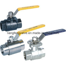 2PC Ball Valve Stainless Steel with Flange End