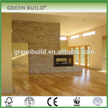 Natural prefinished hickory multilayer wood flooring
