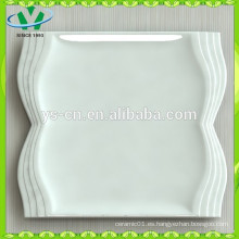 Platos de cerámica de cerámica coloridos de la cena a granel