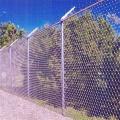 Painéis de cerca de construção temporária cerca de arame