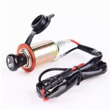 Car Motorcycle Motorbike 12V Cigarette Lighter Power Plug Socket with 60cm Cord