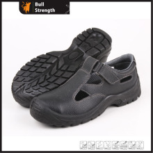 Sandal Leather Safety Shoes with Steel Toe Cap (SN5196)