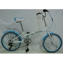 "Economic 7-Speed 20"" Steel Foldable City Bike (FP-KDB-ST027)"