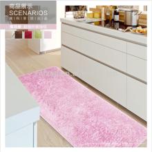 pinker Küchenläufer waschbarer Mikrofaser Seidenteppich