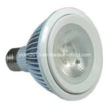 Nueva lámpara blanca pura del PAR 38 LED de la PARRILLA de la aleta 1600lm de 18W