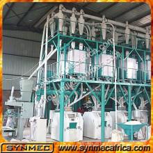 molinos industriales para maíz, línea de procesamiento de maíz, máquina de molienda de maíz y precio