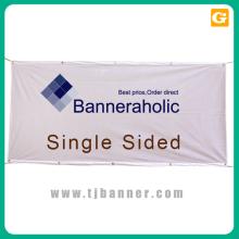Banner de tecido personalizado com hardware com suporte técnico de longo prazo