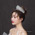 Nuevo elegante cristal Rhinestone mujeres Royal Pageant Prom tocado corona nupcial boda Tiaras coronas