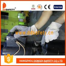 Polka Gloves Black Dots Garden Gloves Safety Working Glove Dcd301
