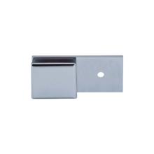 Abrazadera de acero inoxidable de pared a vidrio 180 grados