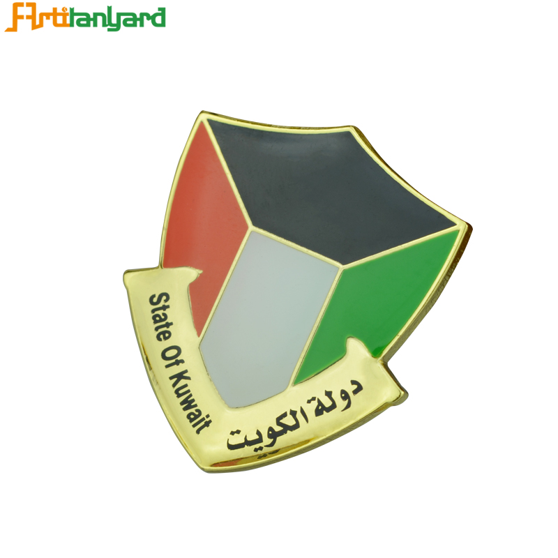 Promotion Pin Custom Metal Badges Reel