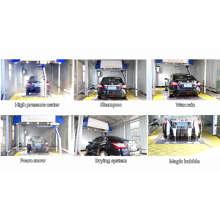 Lavadora de coches sin contacto completamente automática