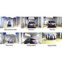 Full Automatic Touchless Car Washing Machine