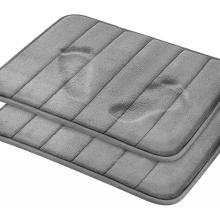 Comfity Memory Foam Bath Mat Around Toilet