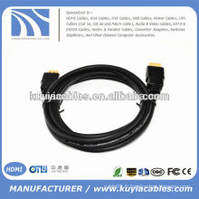 Haute qualité 5 m 1.4V Noir Câble HDMI MALE TO MALE Résolution Full 1080p new