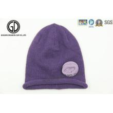 Newest Design Ladies Fashion Hat Winter Warm Knit Beanie Cap