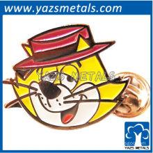 custom high quality top cat pin badge pin badge/lapel pin