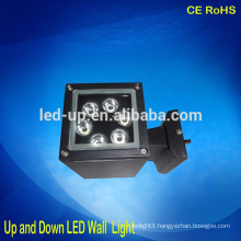 Warm white led 6w outdoor up down led wall lights lamp IP65