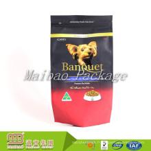 Chine Usine En gros Pas Cher Personnalisé Étiquette Privée Stratifié Matériel En Plastique Chien Alimentaire Pet Food Sac Emballage