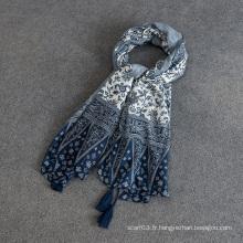 Nouvelle manteau imprimé à la mode longue écharpe / pashmina