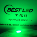 Ultra brillante 5 mm verde LED 530nm 45 grados Epistar