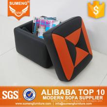 SUMENG удобные мягкие пены скамеечка для ног, скамеечка для ног хранение