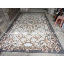 Stone Carpet Marble Mosaic Pattern (STP82)
