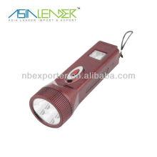 5 LED de luz antorcha de la batería recargable