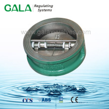 API 594 pn10/16 gg25 double disc check valve for water