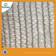 Tela urdimbre tejida urdimbre reciclada de la sombra de sol del PE con la protección ULTRAVIOLETA