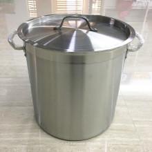 Kommerzielle tiefe Edelstahl Cater Stew Suppe / Kochende Pfanne