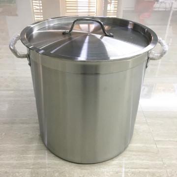 Sopa de aço inoxidável comercial do guisado da fornalha / bandeja de ebulição