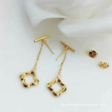 Lucky Leaf Earring 18K