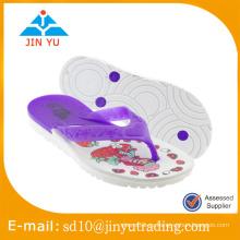 2016 precio de fábrica de China tamaño de niño de PVC zapatillas sandal zapatilla