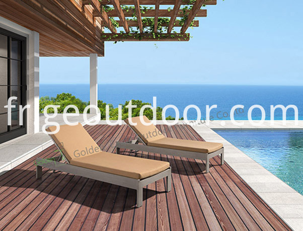 garden double lounge chair