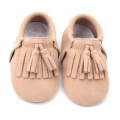 Handmade Soft Sole Suede Leather Baby Shoes