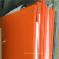 Insulaiton elétrica excelente qualidade laranja/preto placa