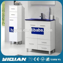 Floor Standing High Gloss Painting Modern Style PVC Waterproof Turkey Bathroom Vanity