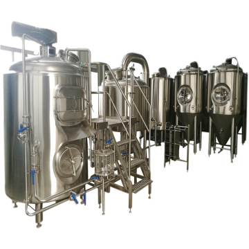 3 Embarcações de Cerveja 500L Craft Beer Brewing Equipment